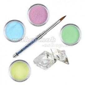 Sada Pastel - sada farebných akrylových práškov