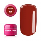 UV Gel na nechty Base One Color RED - Carmel Red 20, 5g