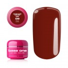 UV Gel na nechty Base One Color RED - Rich Love 09, 5g