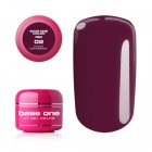 UV Gel na nechty Base One Color RED - Cranberry 02, 5g