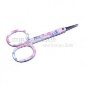 Manikúrové nožničky na nechty s kvietkami