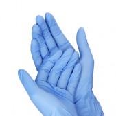 10ks, kaučukové nepudrované rukavice – veľkosť M