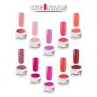 10ks sada farebných gélov - Pink
