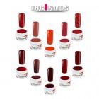 10ks sada farebných gélov - Red