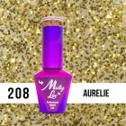 MOLLY LAC UV/LED gél lak Sensual - Aurelie 208, 10ml