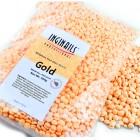 Kozmetický, parafínový vosk - perličky – Gold, 500g