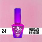 MOLLY LAC UV/LED gél lak Wedding - Yes I Do - Delicate Princess 24, 10ml
