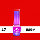 MOLLY LAC UV/LED Elite Women - Crimson 42, 10ml