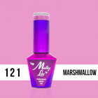 MOLLY LAC UV/LED Yoghurt - Marshmallow 121, 10ml