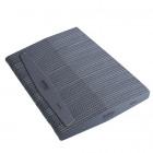 50ks-Pilník na nechty, sivý diamant s čiernym stredom, umývateľný a dezinfikovateľný 100/180