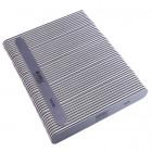50ks-Pilník na nechty, sivý rovný s čiernym stredom, umývateľný a dezinfikovateľný 280/280