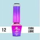 MOLLY LAC UV/LED gél lak Cocktails and Drinks - Cuba Libre 12, 10ml
