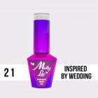 MOLLY LAC UV/LED gél lak Yes I Do - Inspired By Wedding 21, 10ml