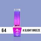 MOLLY LAC UV/LED gél lak Delicate Woman - A Slight Breeze 64, 10ml