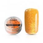 Ozdobný prášok, Neon Glow Glitter, 03 - Orange, 3g