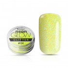 Ozdobný prášok, Neon Glow Glitter, 04 - Yellow, 3g
