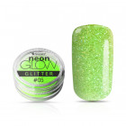 Ozdobný prášok, Neon Glow Glitter, 05 - Green, 3g