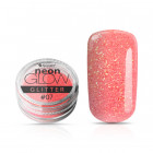 Ozdobný prášok, Neon Glow Glitter, 07 - Light Orange, 3g