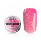 Ozdobný prášok, Neon Glow Glitter, 08 - Pink, 3g
