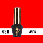 Gél lak, UV/LED  Pablo Rozz - Vision 430, 10ml