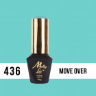 Gél lak, UV/LED  Pablo Rozz - Move Over 436, 10ml