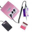 Elektrická brúska na nechty s reguláciou otáčok - ružová