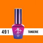 MOLLY LAC UV/LED gél lak Antidepressant - Tangerie 491, 10ml
