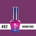 MOLLY LAC UV/LED gél lak Antidepressant - Magnetique 492, 10ml