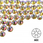 Ozdobné kamienky na nechty - MIX - holografické, 100ks
