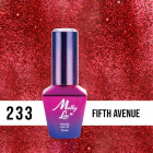 MOLLY LAC UV/LED gél lak Glowing Time - Fifth Avenue 233, 10ml