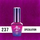 MOLLY LAC UV/LED gél lak Glowing Time - Speculation 237, 10ml