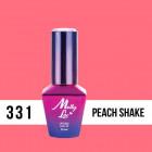 MOLLY LAC UV/LED gél lak Fancy Fashion - Peach Shake 331, 10ml