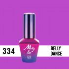 MOLLY LAC UV/LED gél lak Fancy Fashion - Belly Dance 334, 10ml