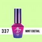 MOLLY LAC UV/LED gél lak Fancy Fashion - Mint Coctail 337, 10ml