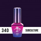 MOLLY LAC UV/LED gél lak Fashion Outfit - Subculture 340, 10ml
