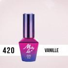 MOLLY LAC UV/LED gél lak Madame French - Vanille 420, 10ml