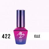 MOLLY LAC UV/LED gél lak Madame French - Elle 422, 10ml
