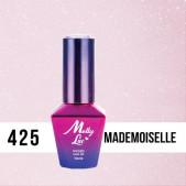MOLLY LAC UV/LED gél lak Madame French - Mademoiselle 425, 10ml