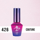 MOLLY LAC UV/LED gél lak Madame French - Couture 426, 10ml