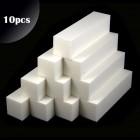 10ks - 4-stranný blok, biely 180/180