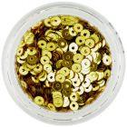 Zlaté nail art flitre CD