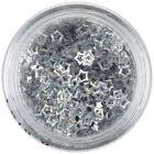Flitre - strieborné hviezdičky, hologram