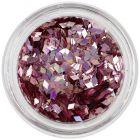 Nail art ozdoba - staroružový diamant, hologram