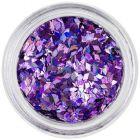 Ozdobné diamanty - svetlofialové, hologram