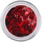 Červené flitre do aqua tipov - diamanty