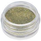 Zeleno zlatý akrylový prášok - glitrový 5ml