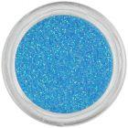 Nebesky modrý ozdobný prášok s glitrami