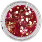 Flitre - šesťhrany aquaelements, červené