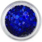 Tmavomodré konfety - šesťhrany aquaelements
