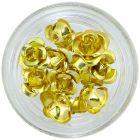 Zlaté keramické ruže, 10ks